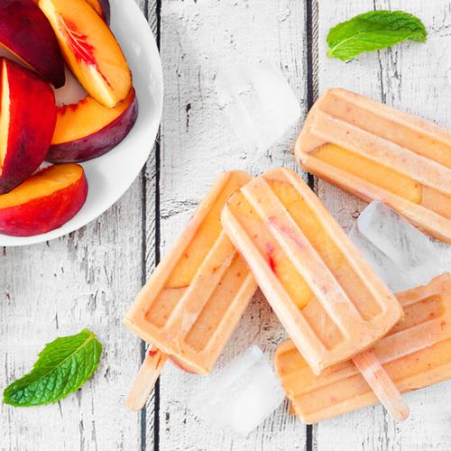 Titan Frozen Fruit Peach Popsicles