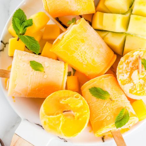 Titan Frozen Fruit mango Popsicles